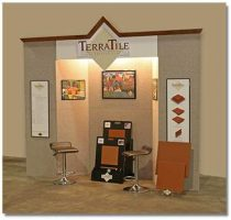trade-show-booth-display-Terratile-clay-tiles-terracotta-distributor-manufacture-wholesale-dealer